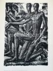 Eugen Kron  The Man of the Sun, 9.  1927  44,5×30,5cm, lithograph on paper. numbered, singned